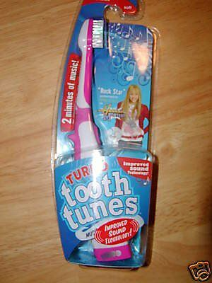 "Tooth Tunes Battery Powered Toothbrush - Hannah Montana ""Rock Star"""