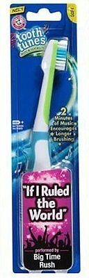 """Tooth Tunes Battery Powered Toothbrush - Big Time Rush """"If I Ruled the World"""""""