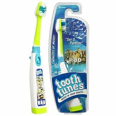 """Tooth Tunes Battery Powered Toothbrush - RBD """"Ser O Parecer"""""""