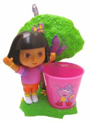 Dora the Explorer Bath Accessories (Toothbrush Holder and Toothbrush)