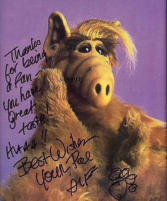 Alf Gordon Shumway Reprint Autographed Signed Picture Photo Collectible Auto Rp