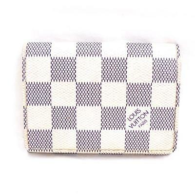 Louis Vuitton Damier Azur Business Card Holder N61746 Free Shipping [Pre]