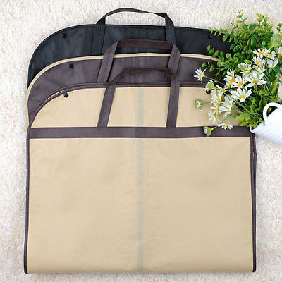 Suit Dress Coat Clothes Storage Travel Carrier Bag Cover Dustproof Protector