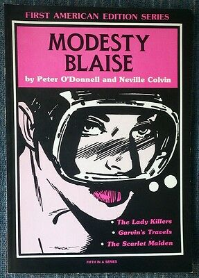 Modesty Blaise First American Edition Series #5 - Great Shape O'Donnell! Colvin!