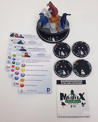 Heroclix Convention Exclusive Trinity of Sin #D-T001 Team Base COMPLETE w/cards!