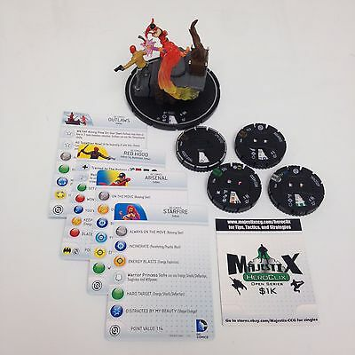 Heroclix Teen Titans set Outlaws #T006 COMPLETE Team Base w/cards!