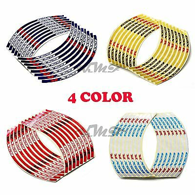 Reflective Rim Stripe Wheel Tape Decal Stickers For Suzuki GSXR1000/750/600 New