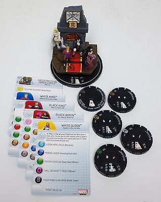Heroclix Wolverine and the X-Men Hellfire Club #T006 Team Base (4 figs) COMPLETE
