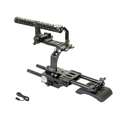 Camtree Hunt FS700 Cage +Top Handle for Sony Nex FS700 Video Camera Free Ship