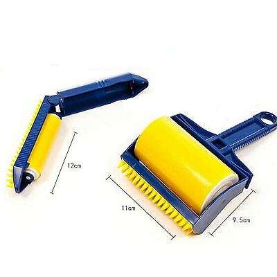 Roller Lint Clothes Suit Remover Sticky Pet Hair Picker Brush Cleaner Buddy