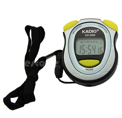 Professional Walking Running Sports Stopwatch Chronograph Digital Timer Newest