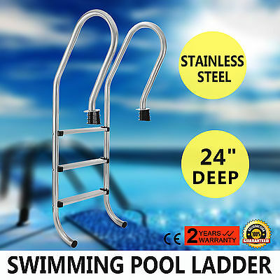 3-Step Swimming Pool Ladder Entry Polished Replacement Outstanding Features