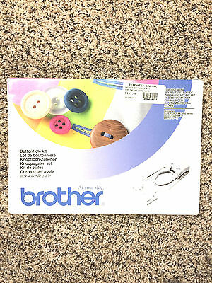 """""""Brother"""" Decorative Buttonhole Kit ULT 3000 Series Model SA-BHK2004 - New"""