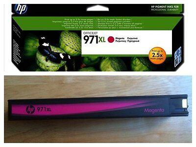 HP 971 XL Magenta ink Cartrige Genuine-NEW (unboxed)