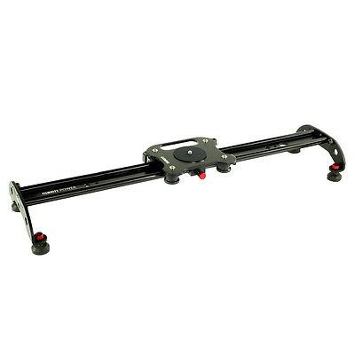 Filmcity 2ft Slider for Video Camera Tripod Mount Load upto 17.6lbs Smooth Shots