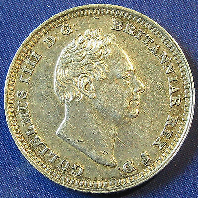 1837 2+A 4d William IV silver Groat in an extremely high grade