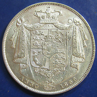 1836 2/6 William IV silver Halfcrown in a breathtaking grade