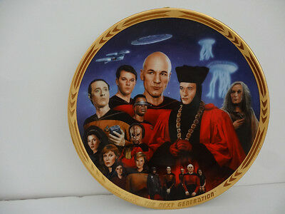 Star Trek The Episodes  Plate Collection Encounter At Farpoint