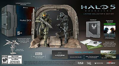 Halo 5 Guardians Collectors Limited Edition, Brand New