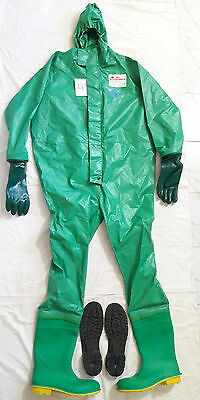 Drager work master chemical hazmat rubber work protective suit size – xxl (4)