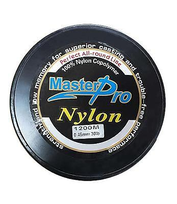 1200m Premium Quality Monofilament Fishing Line in 30LB, Fishing Line Tackle