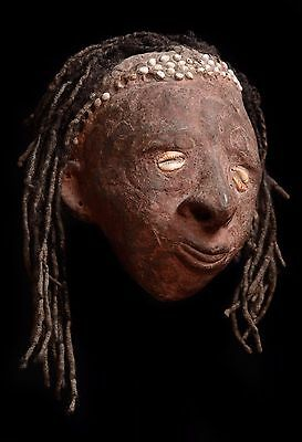 An Early 20Th Century Overmodelled Sepik Head