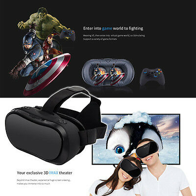 All-in-one 1080p Wifi Quad Core 2GB/16GB Virtual Reality 3D VR Glasses Headset