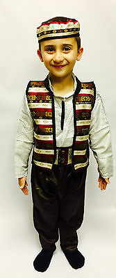 Traditional Costume of Damascus Children's Size طقم عربي دمشقي للأطفال