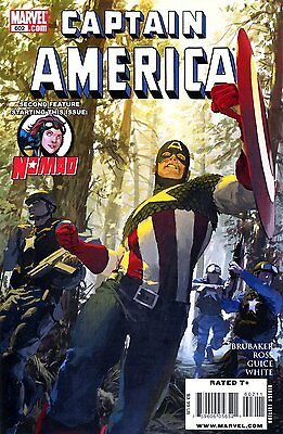 CAPTAIN AMERICA: TWO AMERICAS - complete 4-part story - #602-605 - Brubaker