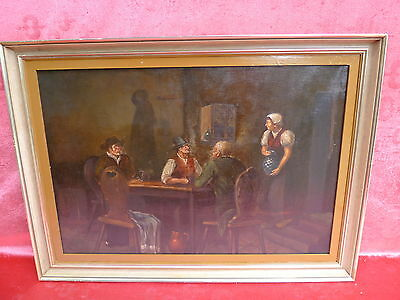 Pretty, old painting __ in Economy__Signed