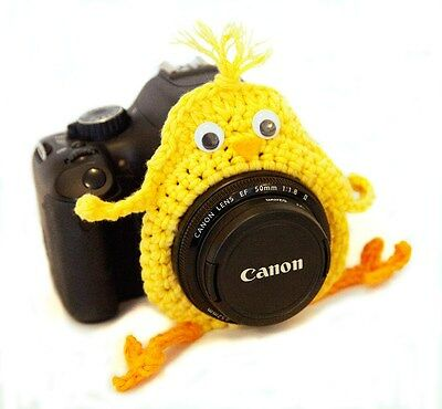 Camera Chick, Photo Prop Lens Chick, Small Lens Buddy, Lens Birdie, Photo Prop