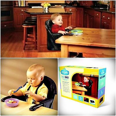 Portable Diner Hook on Chair Easy Folding Baby Table Toddler Regalo Travel Seat