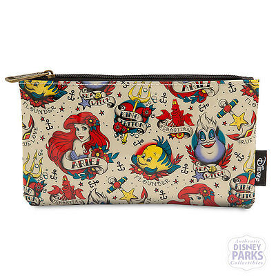 Authentic Disney Parks Collectibles The Little Mermaid Pouch by Loungefly  Ariel