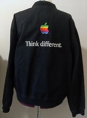 Very Rare Vintage Apple Think Different Embroidered Jacket -'98