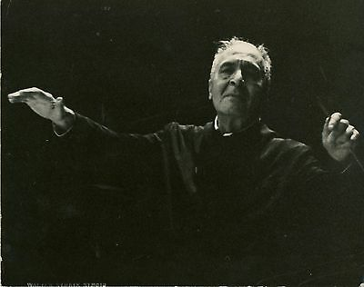 Bruno WALTER (Conductor): Signed Photograph