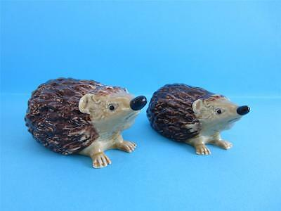 WadWADE BLOW-UP MOTHER AND BABY HEDGEHOG L/E OF 150, SO NICE DISCONTINUED *MINT*