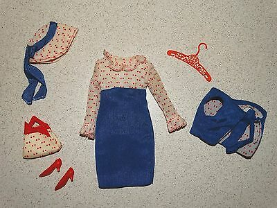 Barbie:  Francie VINTAGE Complete CONCERT IN THE PARK Outfit!