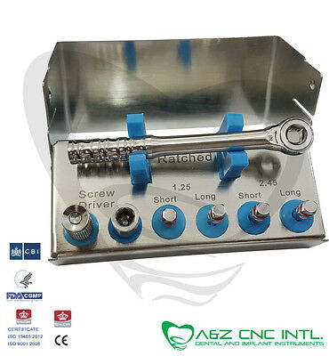 Dental Implant Universal Mini Driver's Kit