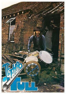 Barriemore Barlow ** POSTER ** Jethro Tull Drummer LUDWIG drums  Led Zeppelin
