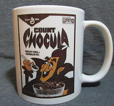 Count Chocula Cereal Box Coffee Cup, Mug - GM Classic - Sharp - COLLECT THE SET!