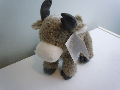 Carter's Brown Moose Plush Stuffed Lovey Baby Toy New Kids Preferred 2015