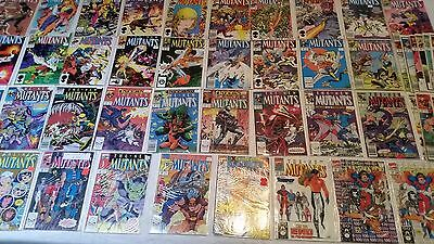 The New Mutants Comic Lot 48 Comics 41-100 VF-NM