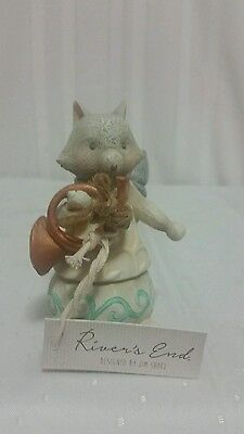 Enesco Jim Shore Rivers End Woodland Fox with Horn NEW IN BOX