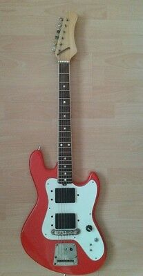 VINTAGE electric guitar JOLANA GALAXIS 1980s  Made in USSR Low price!! CHECK IT!