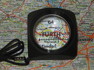 1x  Map Reader - magnifying device. (for use in daylight)  (1.7 magnification)
