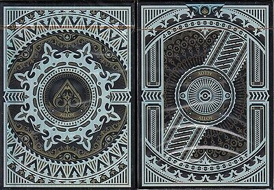 Alloy Copper Deck Playing Cards Poker Size Iridescent Custom Limited New Sealed