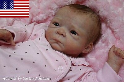 "Soft vinyl reborn doll KIT SCULPT ""Milaine"" by Evelina Wosnjuk - Nicky Creation"