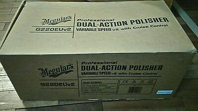 Meguiars G220EUv2 Dual Action polisher NEW
