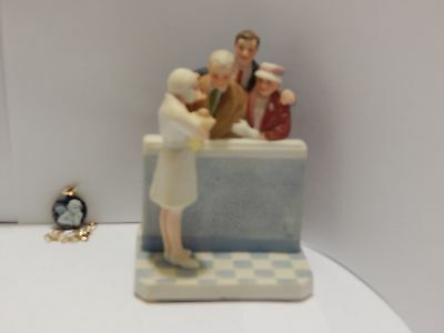 Norman Rockwell Figurine New Arrival 1987 Museum Collections Made in Taiwan