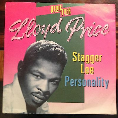7'Lloyd Price  Stagger Lee/Personality  50's Rock'n'Roll GOLD*OLDIETHEK